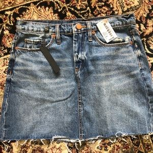 BLANK NYC new with tags, Distressed Jean Skirt